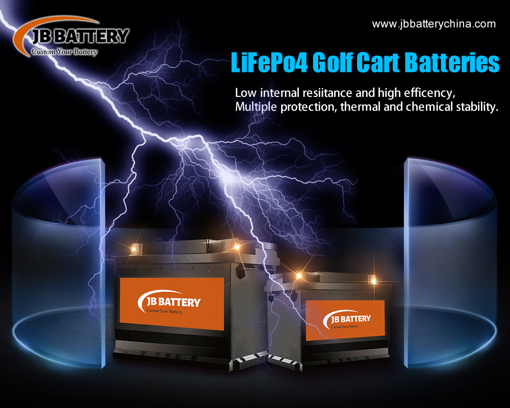 China LifePO4 Golf Cart Battery Pack Manufacturer (26)